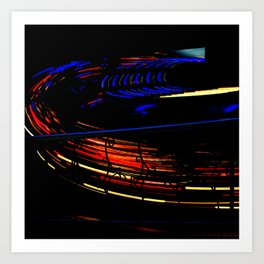 Spinning I - Waltzer Art Print