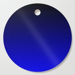 Black and Cobalt Gradient Cutting Board