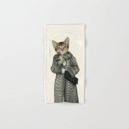 Kitten Dressed as Cat Hand & Bath Towel