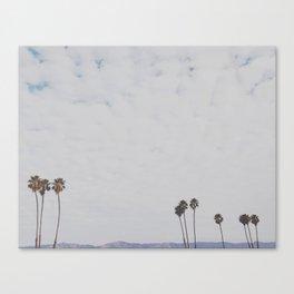 Cali Skyline Canvas Print