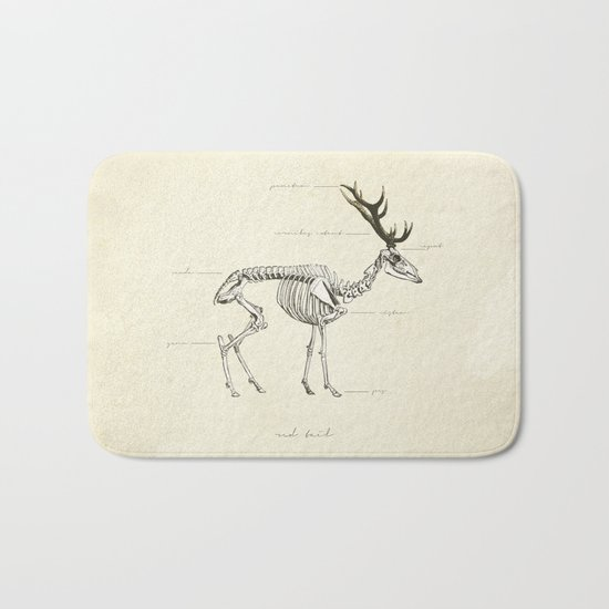 Death of the Red Tail Bath Mat