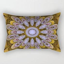 Candys Mandala Art Rectangular Pillow