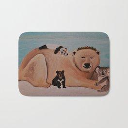 Four Bears Bath Mat