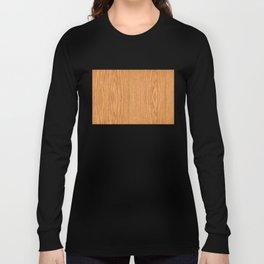 Wood Grain 4 Long Sleeve T-shirt