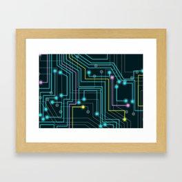 Hitech Framed Art Print
