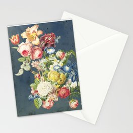 Floral Tribute to Louis McNeice Stationery Cards