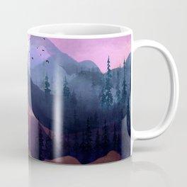 Misty Mountain Morning Coffee Mug