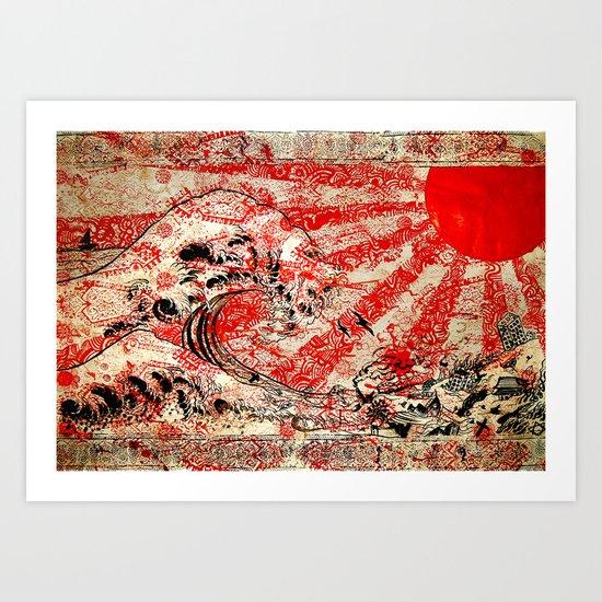 For Japan. Art Print