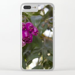 blackberry love Clear iPhone Case