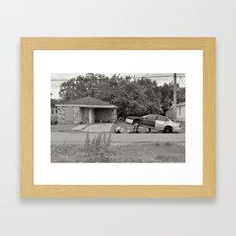 Lower 9th Ward - New Orleans, Louisiana Framed Art Print