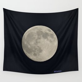 Another August Moon Wall Tapestry