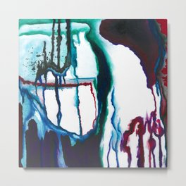 A State of Apprehension and Tension Metal Print