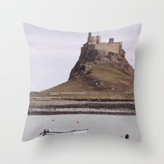 castles made of sand... Throw Pillow