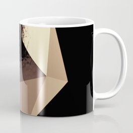 Bling - Black and Gold Coffee Mug