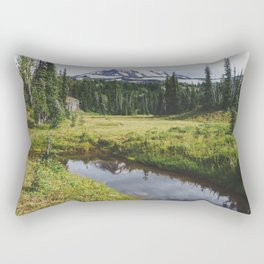 Mt Adams & Killen Creek - Pacific Crest Trail, Washington Rectangular Pillow