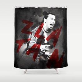 Zlatan Shower Curtain