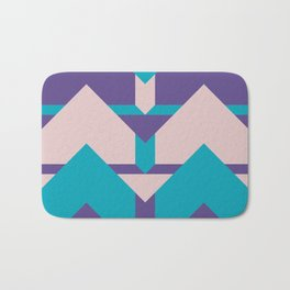 Glow Way #society6 #glow #pattern Bath Mat