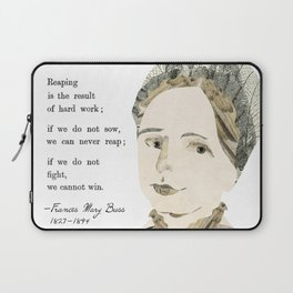 Homage to Frances Mary Buss Laptop Sleeve