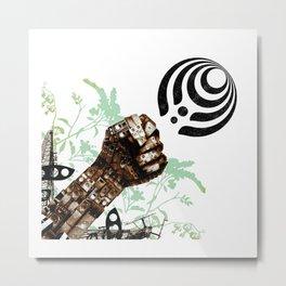 basnectar mekanik poster Metal Print
