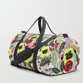 Flower Pugs Duffle Bag