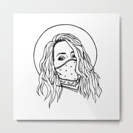 For the Love of Lana Metal Print
