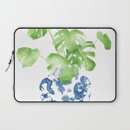 Ginger Jar + Monstera Laptop Sleeve