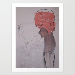 OUTLYING Art Print
