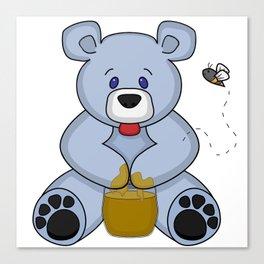 Hunny Bear Canvas Print