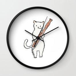 Reed Meowtet: Soonie Wall Clock