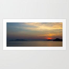 Perfect Sunset Art Print