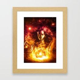Alcyone Framed Art Print
