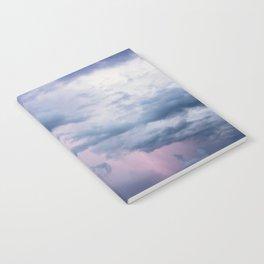 Cotton Candy Lightning Notebook