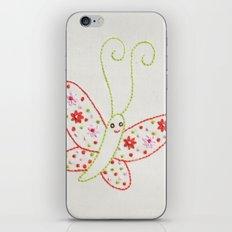 B Butterfly iPhone & iPod Skin