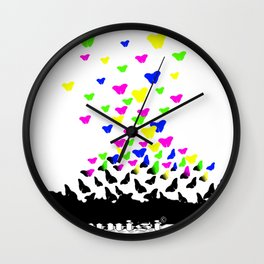 Younisi Peace  Wall Clock