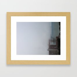 Karl the Fog Framed Art Print