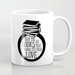 Bookish Engagment Coffee Mug