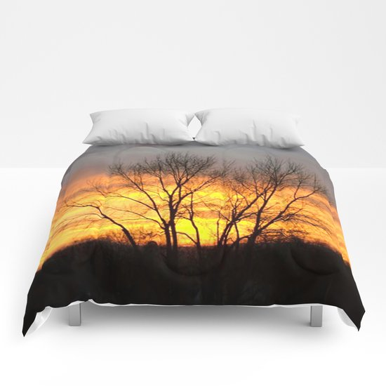 Radiant Sunset Comforters