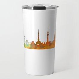 Tokyo City Skyline Hq V1 Travel Mug