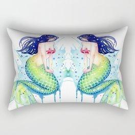 Mermaid Splash Rectangular Pillow