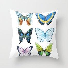 Butterflies 02 Throw Pillow