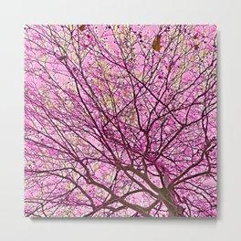 Fragmented Soul (pink) Metal Print