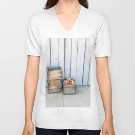 An Apple a Day Unisex V-Neck