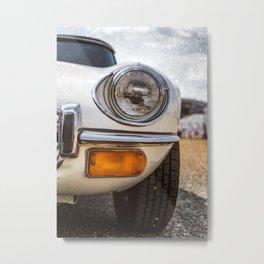 """Headlight"" - Classic cars lovers Metal Print"