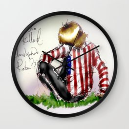 Brian Jones-Who killed  Christopher Robin? Wall Clock