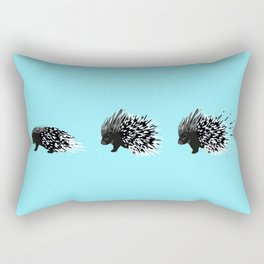 Crested Porcupine Rectangular Pillow