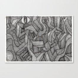 3D landscape Canvas Print