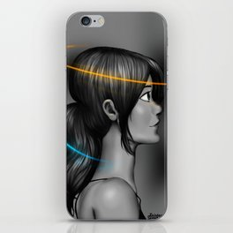 Think With Portals iPhone Skin