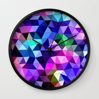 sound Wall Clocks featuring Sound by KRArtwork