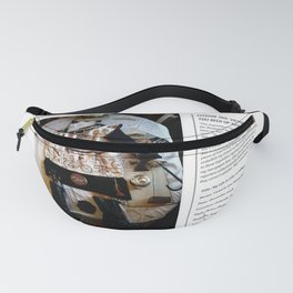 My Life Is Like A Collage / Art Stories Fanny Pack