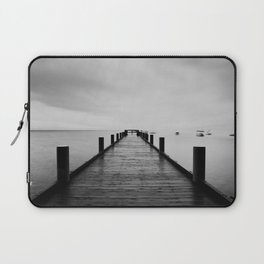 """""""ghost"""" boats on Lake Tahoe after a storm Laptop Sleeve"""